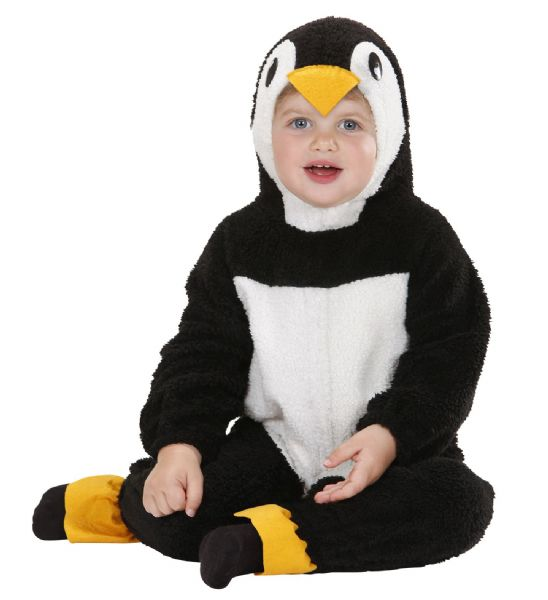 Toddler Fuzzy Penguin Baby Costume Animal Fancy Dress